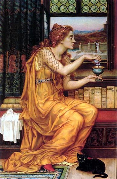 The Love Potion – Evelyn de Morgan