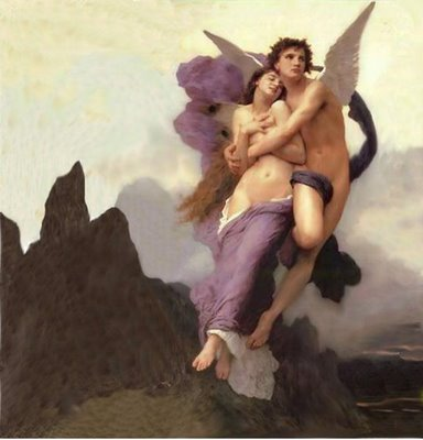 William Bouguereau - Eros and Psyche