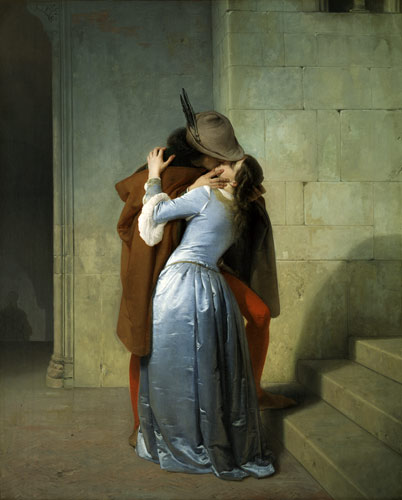 Francesco Hayez, The Kiss (1859)