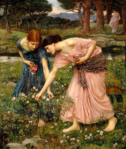 Waterhouse 'Gather ye Rosebuds' -1909