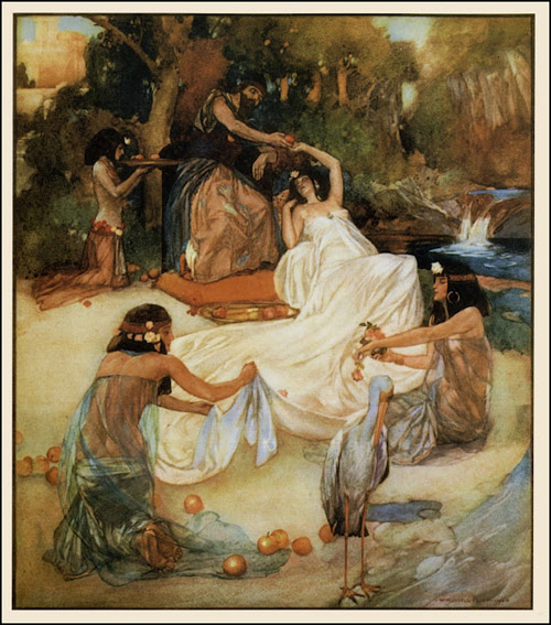 Sir William Russell-Flint's 'Song of Solomon' 1909