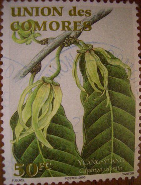Ylang-Stamp-Comores