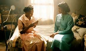 Celie (Whoopi Goldberg) reads Nettie's letters to Shug (Margaret Avery) from the movie The Color Purple